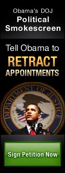 Tell Obama to retract the unconstitutional appointments
