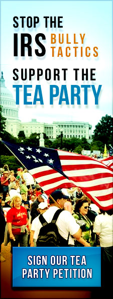 Stop the IRS Bully Tactics Support the Tea Party
