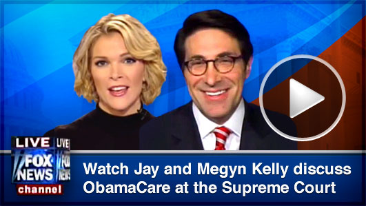 Watch Jay and Megyn Kelly Discuss ObamaCare at the Supreme Court